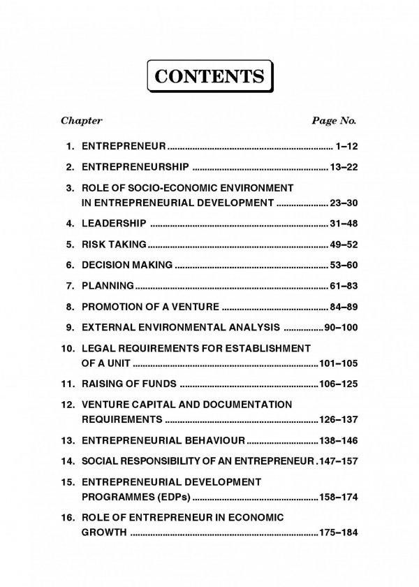 Fundamentals of Entrepreneurship Content 1