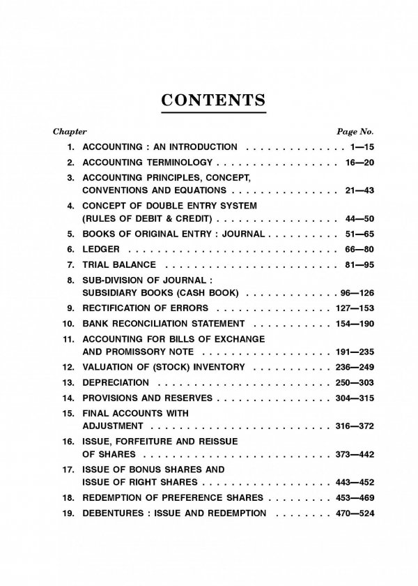 Book keeping and Basic Accounting Content 1